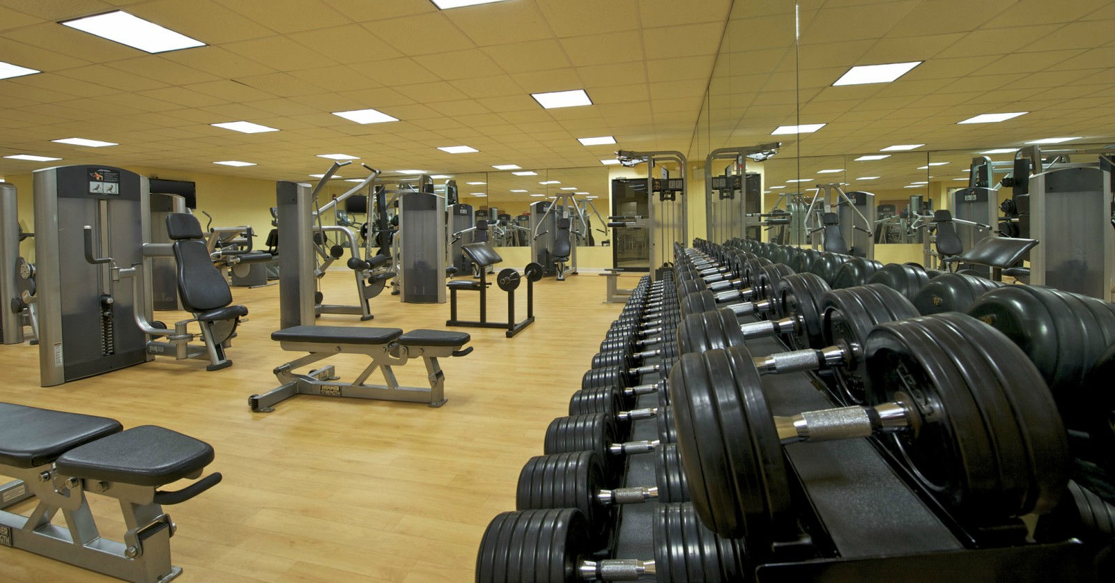 Hotel Features | Sheraton Bucks County Hotel Fitness Center